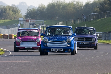 Mini at Castle Coombe 02